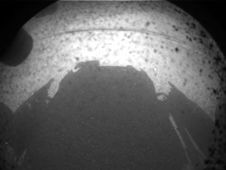This is one of the first images taken by<br /> NASA&#39;s Curiosity rover, which landed on<br /> Mars the evening of Aug. 5 PDT (morning<br /> of Aug. 6 EDT).<br /> Image credit: NASA/JPL-Caltech<br /> <a href='http://www.nasa.gov/mission_pages/msl/multimedia/msl-3.html' class='bbc_url' title='External link' rel='nofollow external'>� Full image and caption</a>