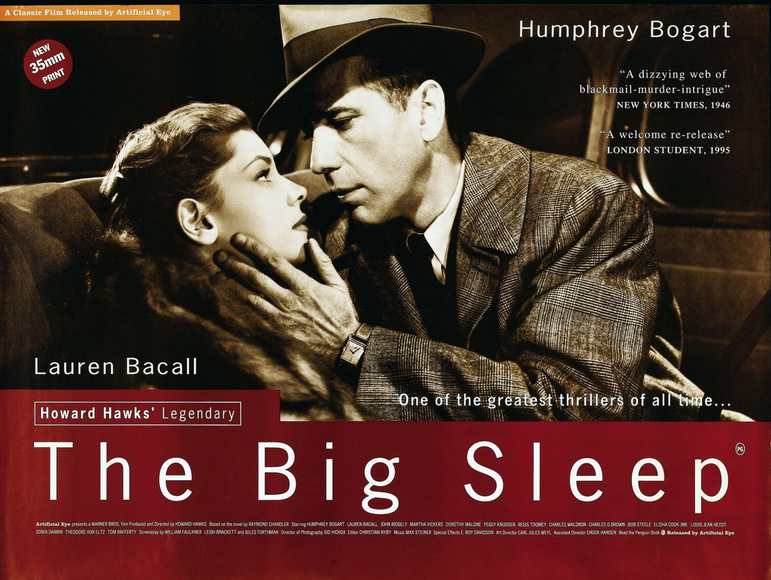 the big sleep thesis Essays and criticism on raymond chandler's the big sleep - critical essays.
