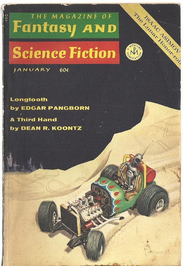 A Third Hand [in] The Magazine of Fantasy and Science Fiction, January 1970, KOONTZ, DEAN R