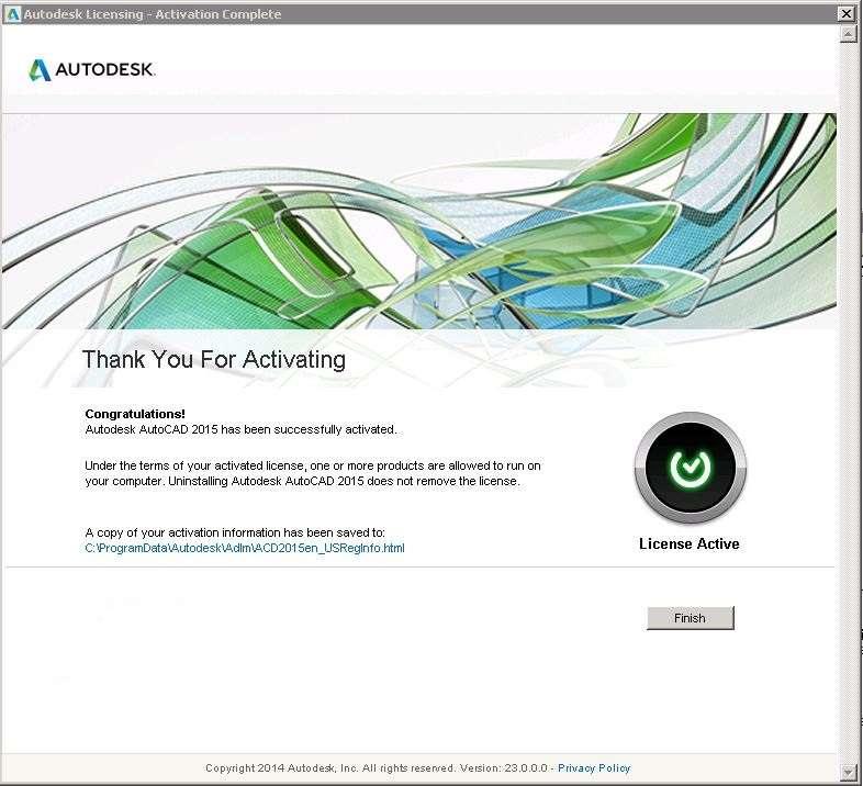 AutoDesk AutoCAD 2015 (32Bit/64Bit) Full