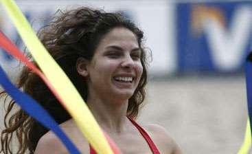 Fotos de las mujeres en el Mundial de fútbol-playa en Brasil